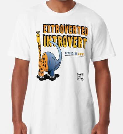 Extroverted Introvert Long T-Shirt