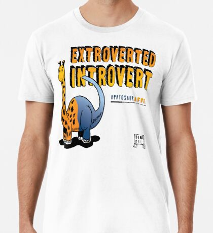 Extroverted Introvert Premium T-Shirt