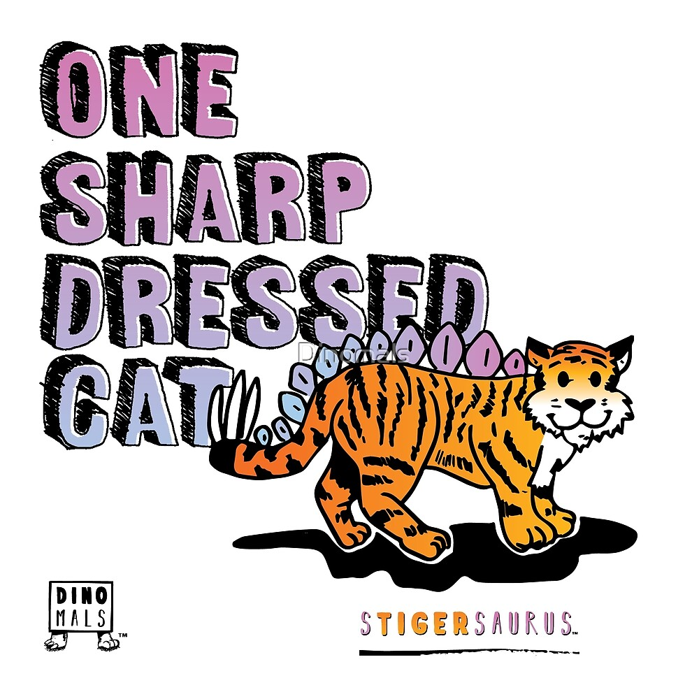 One Sharp Dressed Cat by Dinomals