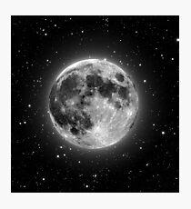 Beautiful full moon Photographic Print