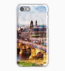DRESDEN, Germany - Beautiful Earth [Custom Digital Artwork] iPhone Case/Skin