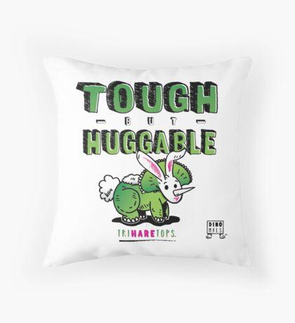 Tough but Huggable Throw Pillow