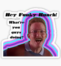 Hey Funky Bunch! Sticker