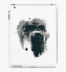 King Kong Ink Blot on Denham's Map iPad Case/Skin