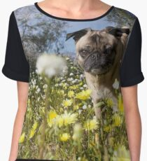 Stop and eat - err, smell - the flowers. :P Women's Chiffon Top