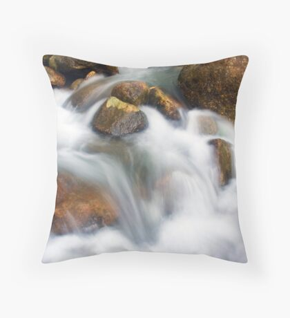 Jungle Stream Throw Pillow