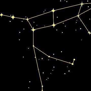 Constellation Ursa Major by GaffaMondo