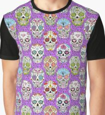 Day of the Dead Skull T Shirt Graphic T-Shirt