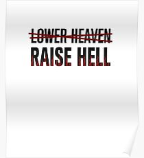 Lower Heaven Raise Hell Poster