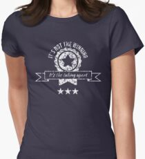 It's not the winning, it's the taking apart Women's Fitted T-Shirt