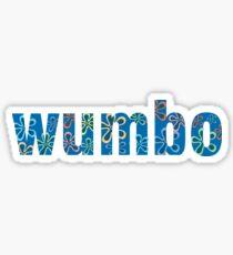 Wumbo Sticker