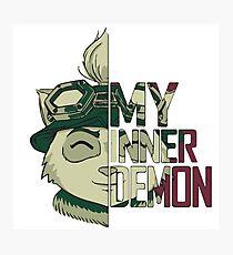 Teemo - ''My inner demon'' Photographic Print