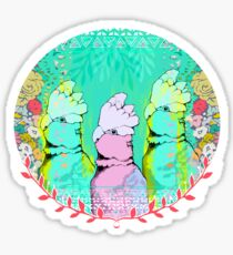 Springtime Galahs Sticker