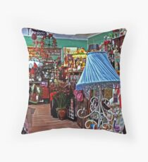 bric a brac Throw Pillow