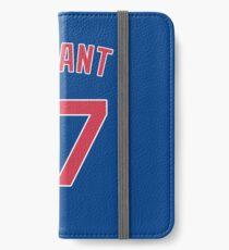 Kris Bryant iPhone Wallet/Case/Skin