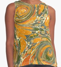 Old Marbled Paper 03 Blusa sin mangas