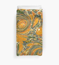 Old Marbled Paper 03 Duvet Cover