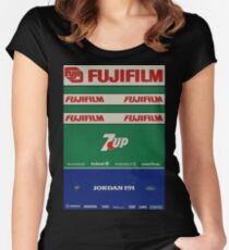 Formula 1 - Jordan 191 Women's Fitted Scoop T-Shirt