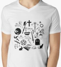 Buffy Symbology - Black T-Shirt
