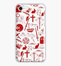 Buffy Symbology - Red iPhone Case/Skin