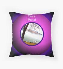 Terra Portal Throw Pillow