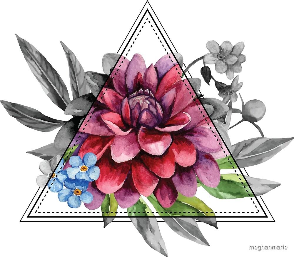 Geometric Dahlia by meghanmarie