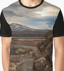 Sacred Iceland Trinity Graphic T-Shirt