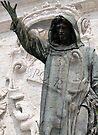 Cola di Rienzo statue, Rome, Italy by David Carton