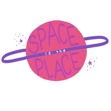 Space is the Place Planet by odetospace