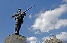 Gloucestershire regiment Boer war memorial, Bristol, UK by David Carton