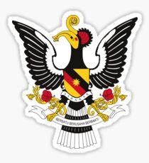 Sarawak Coat of Arms Sticker