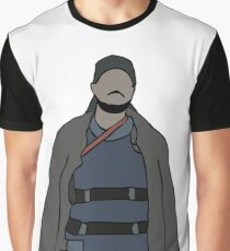 Omar The Wire Graphic T-Shirt