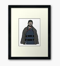 Omar The Wire Framed Print