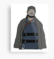 Omar The Wire Metal Print