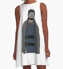 Omar The Wire A-Line Dress