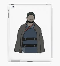 Omar The Wire iPad Case/Skin