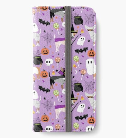 Chihuahua dog breed halloween pet portrait cute dogs gifts iPhone Wallet