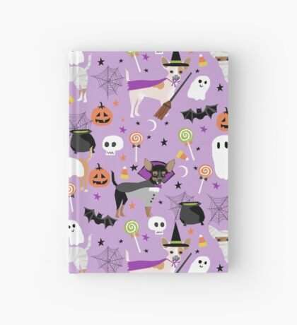Chihuahua dog breed halloween pet portrait cute dogs gifts Hardcover Journal