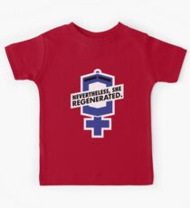 Nevertheless, She Regenerated. Kids Clothes