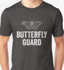 Butterfly Guard White Style Jiu Jitsu Shirt Unisex T-Shirt