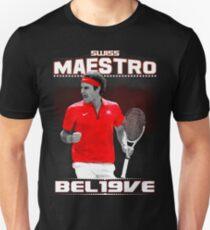 Roger Federer Swiss Maestro Unisex T-Shirt