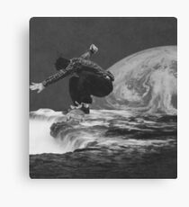 Sinkin Space Canvas Print