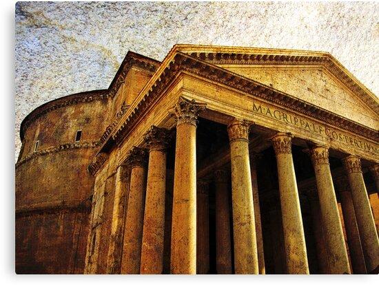 The Pantheon, Rome, Italy by David Carton