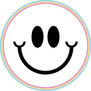 Rainbow Smiley by jonahh