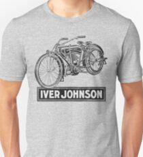 Vintage Iver-Johnson Motorbike advertisement T-Shirt