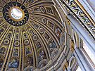 The cupola, St Peter's basilica, Rome, Italy by David Carton
