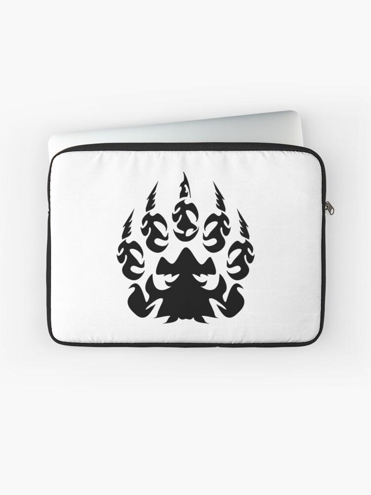 Tribal - Bear Paw | Laptop Sleeve