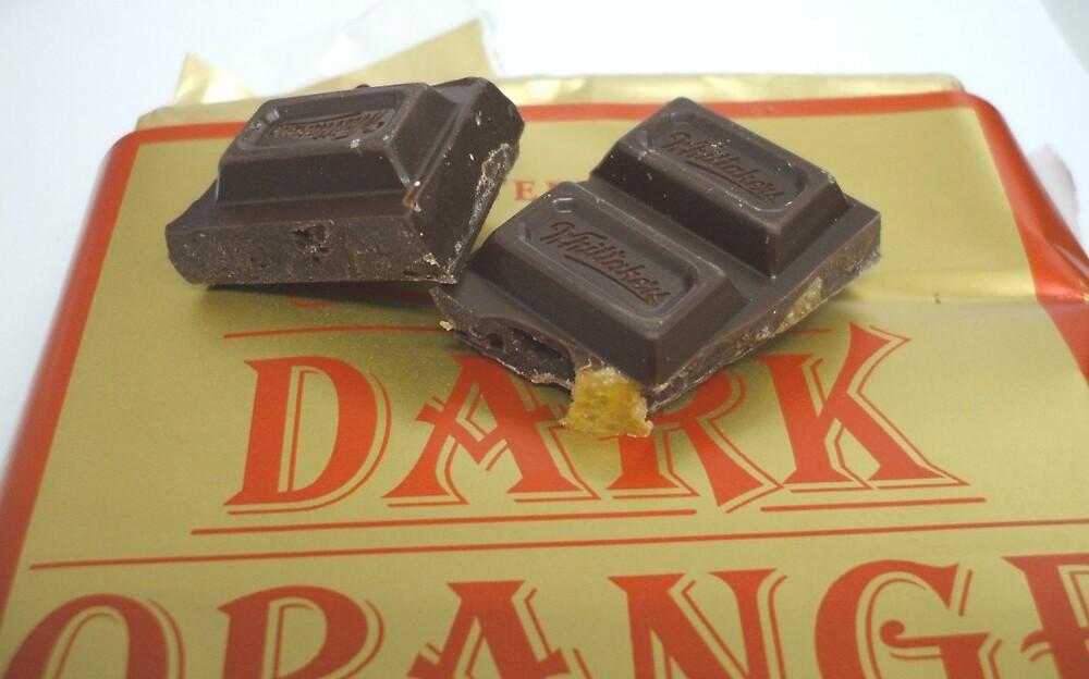 Whittakers dark orange chocolate by Kath Lockett