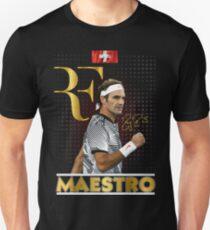 Roger Federer Wimbledon Tennis Maestro T-Shirt