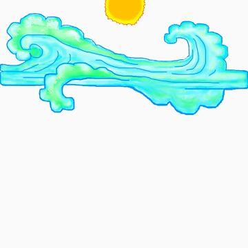 waves by teej